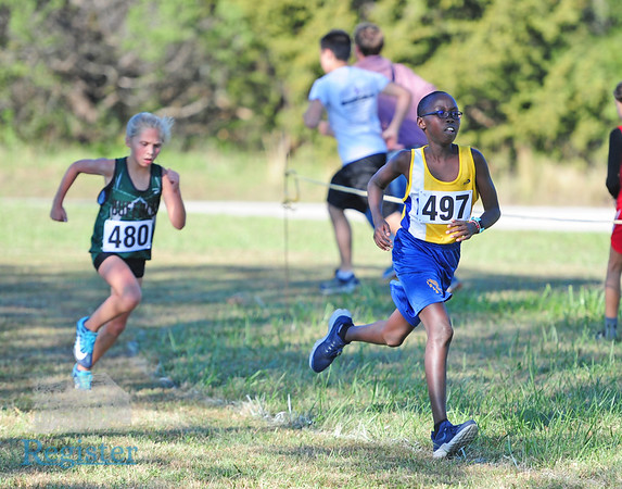 Iola Cross Country at 2018 Pioneer League meet 10/11