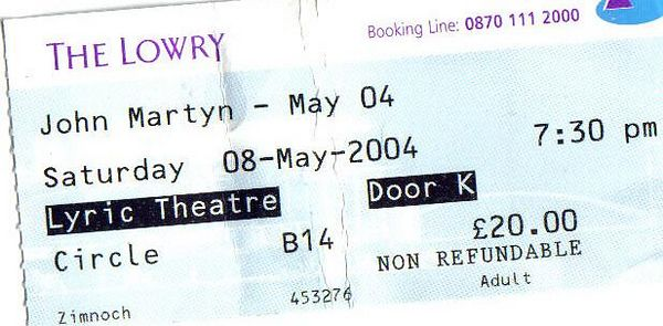 """<B><I><font color=""""red"""">John Martyn:Lowry,Salford 8th May 2004</font></I></B>"""