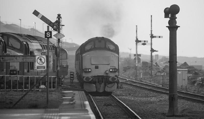 37423 Carlisle - Barrow-in-Furness in Sellafield.