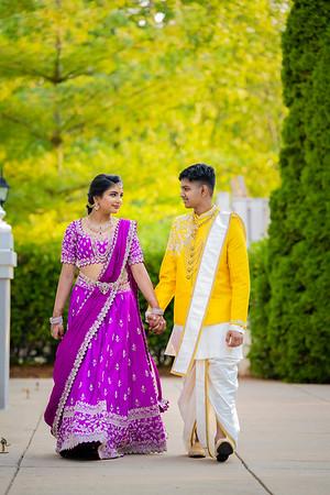 Samyukta's Half Saree