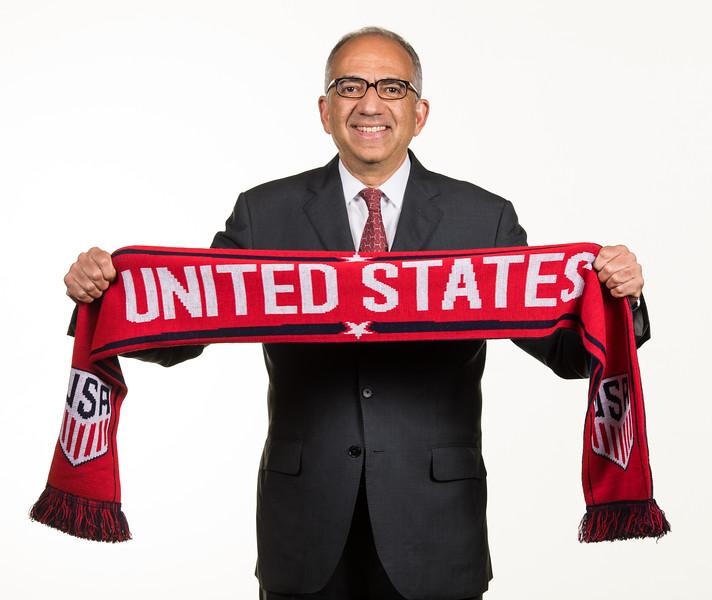 USA SOCCER PRESIDENT Carlos Cordeiro