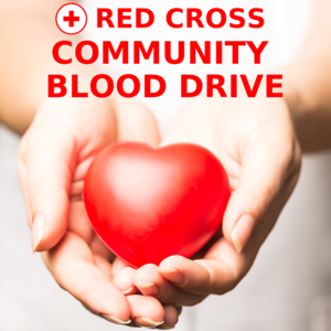Red Cross Community Blood Drive