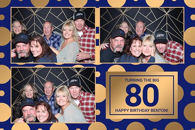 Benton's 80th Birthday