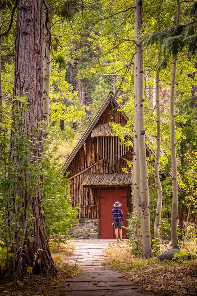 Glen Alpine Falls, Lake Tahoe