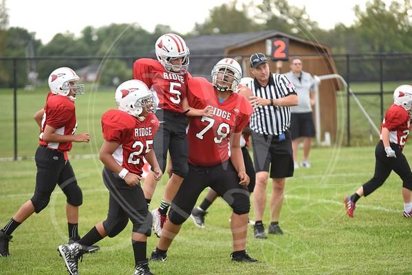 Ridge Football vs. Hopewell (7th & 8th) - 8.26.15