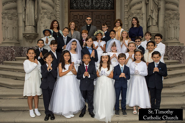 2018 St. Timothy's First Holy Communion