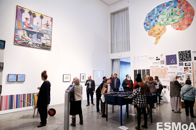 The Stardust exhibition opening at ESMoA