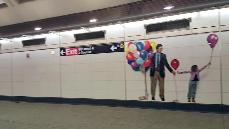 NYC  Subway Station Art