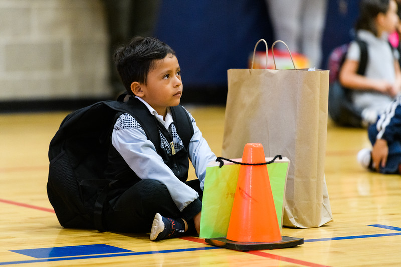 Back to school day at Hallman Elementary School on Wednesday, September 4, 2019 in Salem, Ore.