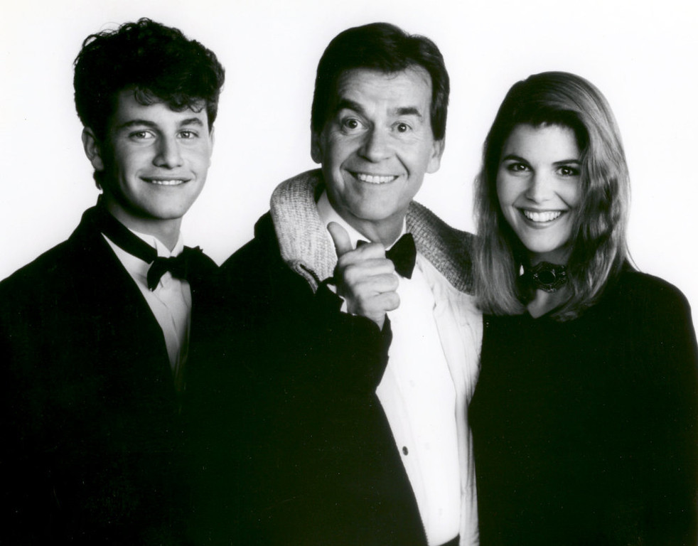 . NYRE 1990 Kirk Cameron, Lori Loughlin with Dick Clark