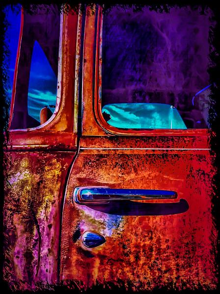 Old Chevy Truck, Liberty Lake, Washington