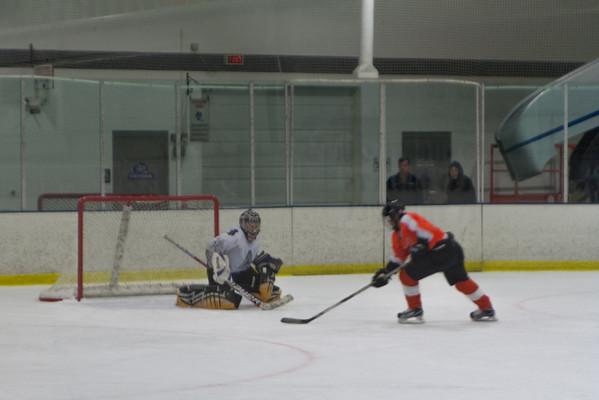 Snider Hockey Orange at Hatfield Ice Dogs 16A White 9-28-2013