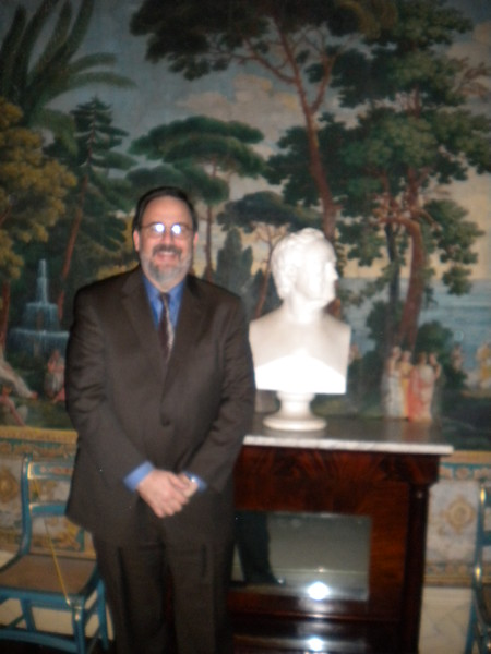 Immediate Past President Marty Davidoff at The Hermitage