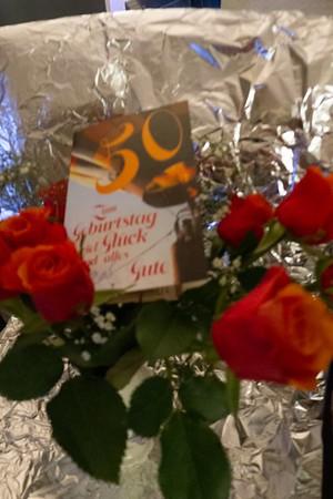 50 Gebursttag Blumen von Muttchen