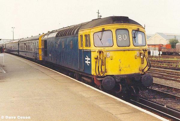 Dave's Heritage Diesel loco travels