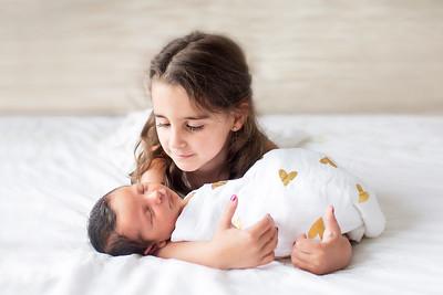 Isabella at 8 Days (Born May 10, 2018)