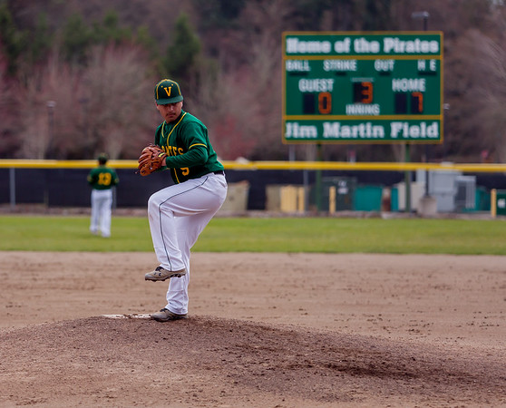 Set three: Vashon Island High School Baseball v Darrington