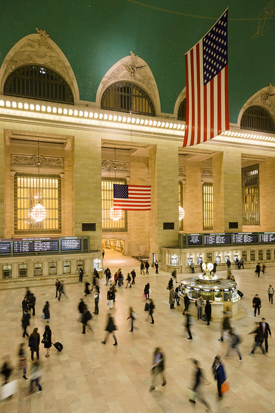 'Grand Central Rush' - New York City