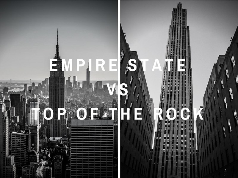 empire state building vs top of the rock