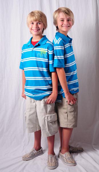 Gavin and Keegan