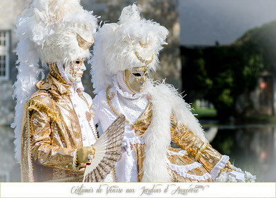 Costumés de Venise aux Jardins d'Annevoie 2015