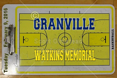 2016 Granville at Watkins Memorial (02-09-16) VARSITY