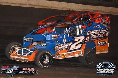 Grandview Speedway - 7/18/20 - Steve Sabo (SDS)
