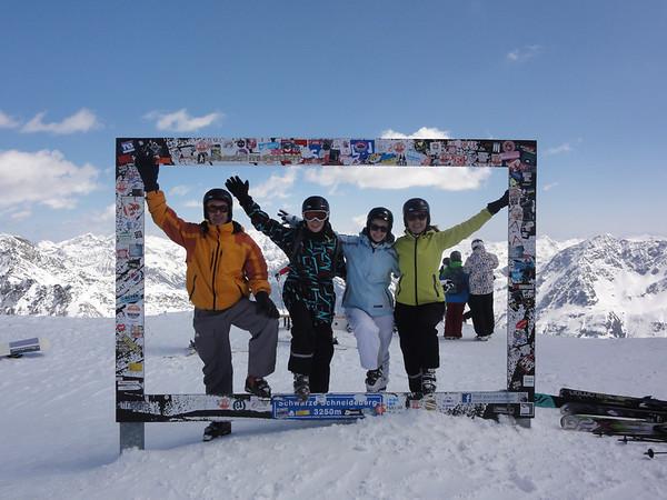 2014 April - Ski in Austria