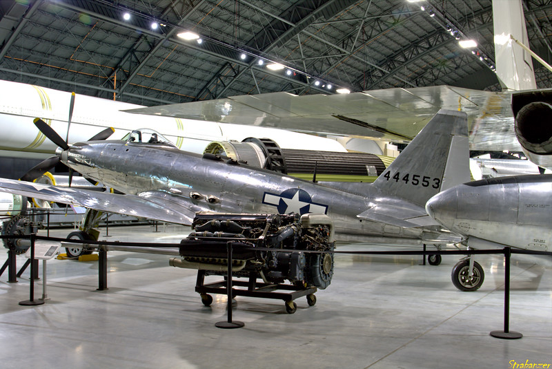 National Museum of the United States Air Force, Dayton, Ohio,   04/13/2019  Fisher P-75A Eagle c/n 5  44-44553   This work is licensed under a Creative Commons Attribution- NonCommercial 4.0 International License.