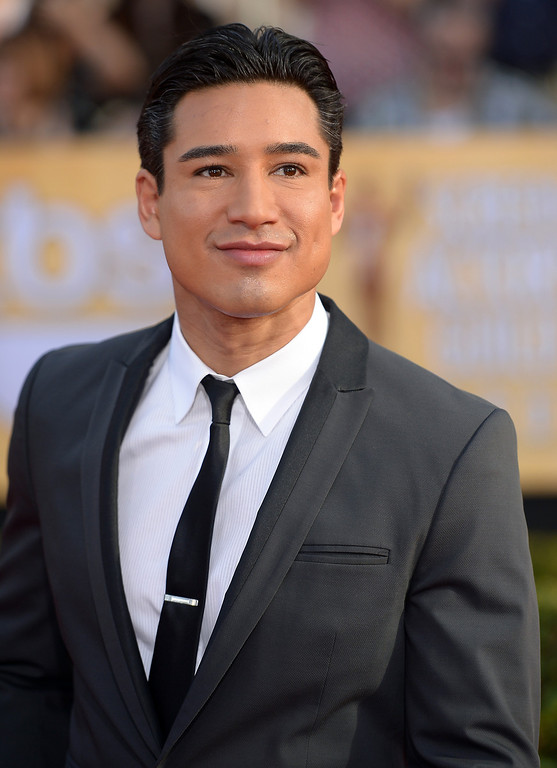 . Mario Lopez arrives at the 20th Annual Screen Actors Guild Awards  at the Shrine Auditorium in Los Angeles, California on Saturday January 18, 2014 (Photo by Michael Owen Baker / Los Angeles Daily News)