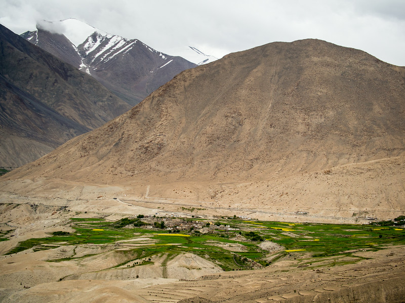 Khardung Village near Khardung La Pass