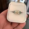 2.10ct Art Deco Peruzzi Cut Diamond Ring, GIA W-X SI2 39
