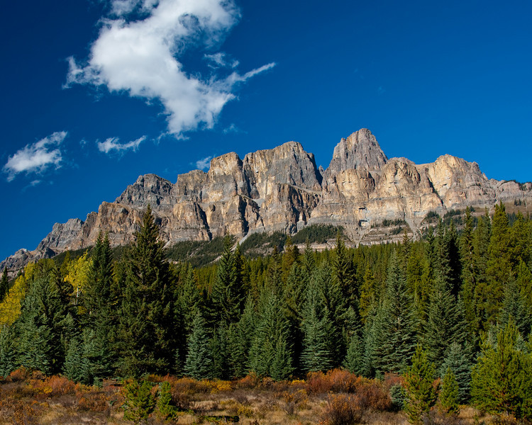 Castle Mountain - Canadian Rockies