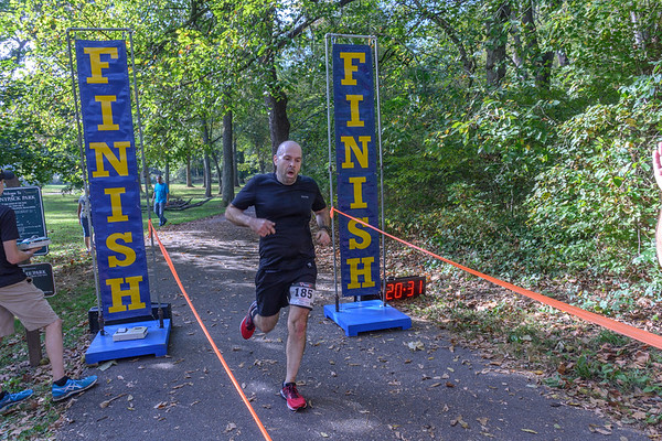 Trot in the Park finishers