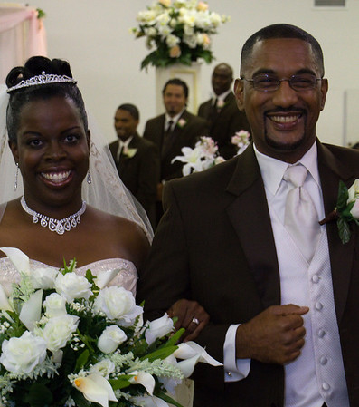 Donald Perry and Traci Graham Wedding