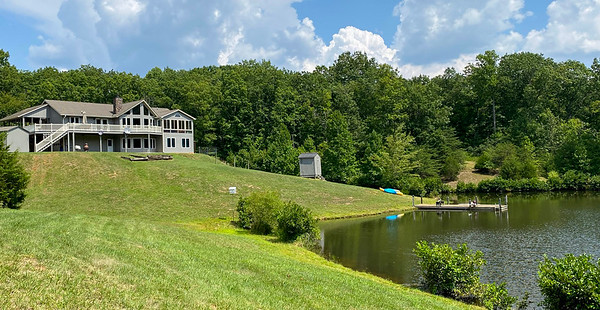 Lakefront Home on 61 Acres
