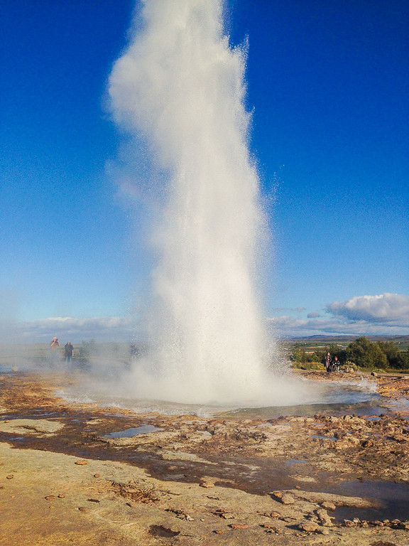 Strokkur Geyser in the Geysir Hot Springs Area | Best of Iceland Nature