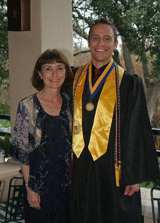 Ed Morgan's Texas State Graduation