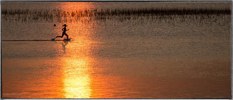 River Runner at Sunset