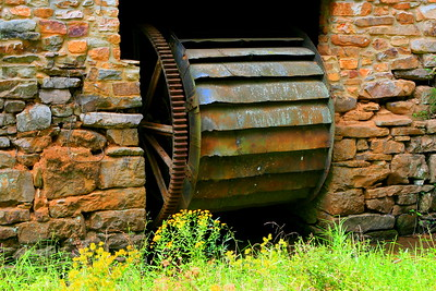Roupes Valley Ironworks Furnace 1862