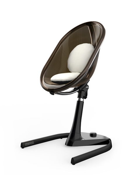 Mima_Moon_Junior_Chair_Product_Shot_Black_Snow_White_Cushions_Front_View.jpg