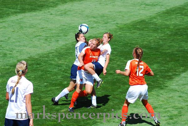 BYU Women's Soccer vs OSU 9-7-09