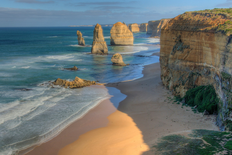 Twelve Apostles HDR 2 - Great Ocean Road, Victoria, Australia