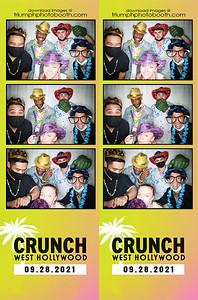 9/28/21 - Crunch West Hollywood