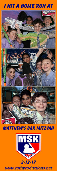 Matthew's Bar Mitzvah