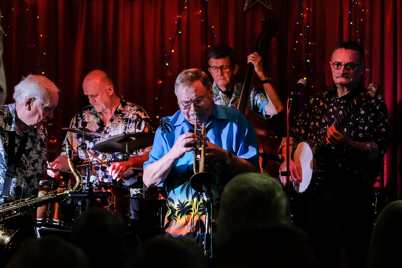 Rochdale Jazz club - Frank Brooker's Happy Chappies
