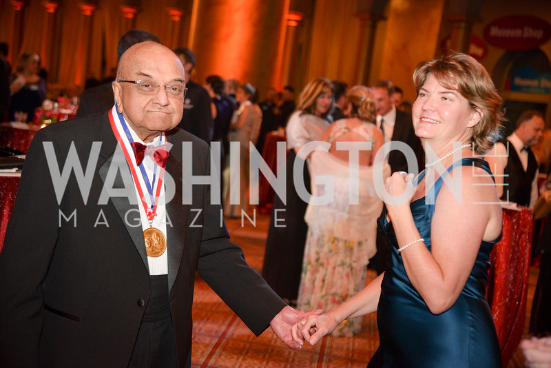 Dr. Rangaswamy Srinivasan, Lori Tugman National Inventors Hall of Fame, Induction at the National Building Museum, May 3, 2018-9041.JPG