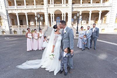 Tiffany and Joey Borja's Wedding at Cafe Julia - YWCA Laniakea