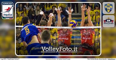 Calzedonia Verona - Sir Safety Conad Perugia   Q5 #ChePlayOff #SuperLega
