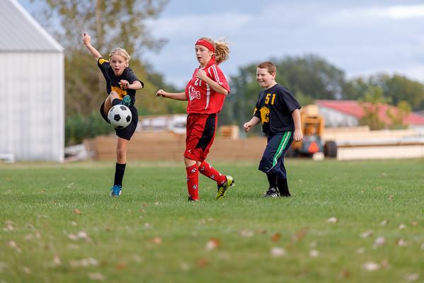 Mattie and Noah's Soccer Games